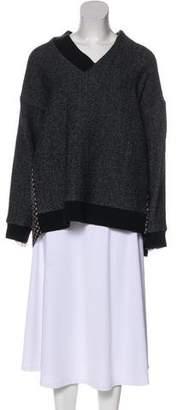 Thakoon Printed Knit Sweater