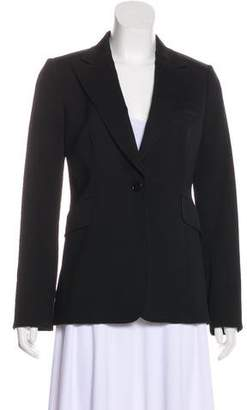 CNC Costume National Notch-Lapel Wool Blazer