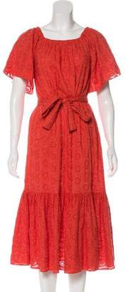 Rhode Resort Off-The-Shoulder Maxi Dress