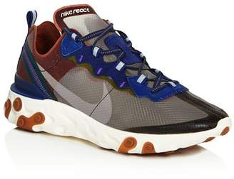 Nike Men's React Element 87 Low-Top Sneakers
