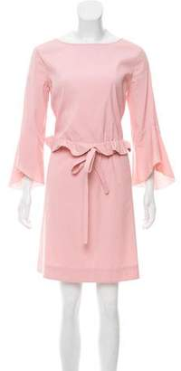 Altuzarra Long Sleeve Knee-Length Dress