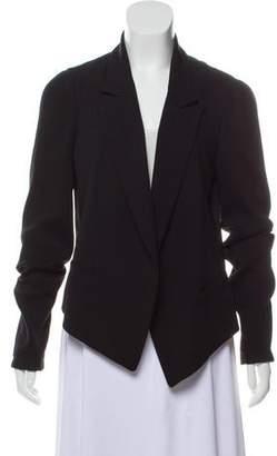 Alexander Wang Rib Knit Wool Blazer