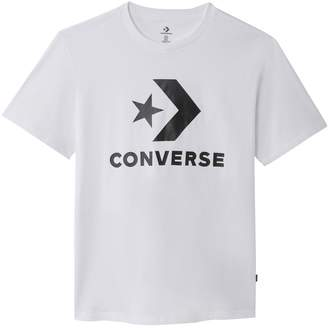 a1093f7d9ee2 Converse Printed Short-Sleeved Crew Neck T-Shirt