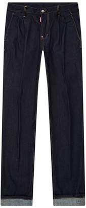 DSQUARED2 Pleated Front Jeans