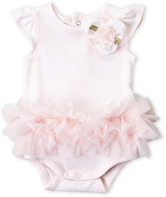 Miniclasix (Newborn/Infant Girls) Pink Tutu Bodysuit