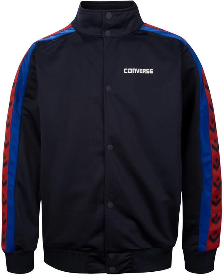 Snap-Front Warm-Up Jacket, Big Boys