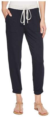Michael Stars Color Block Elevated French Terry Drawstring Pant Women's Casual Pants