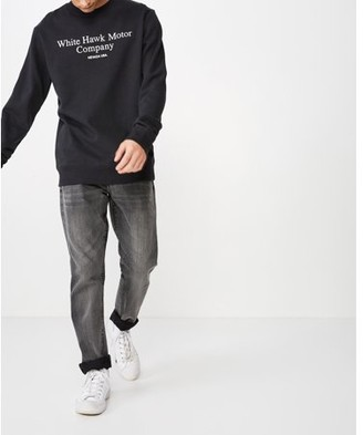 Cotton On Men's Crew Fleece 2