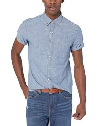 J.Crew Mercantile Men's Slim-Fit Short-Sleeve Chambray Shirt