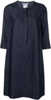 Max Mara 'S denim 3/4 sleeve dress