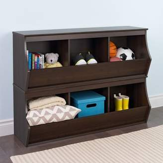 Viv + Rae Leonor Stacked 6 Bin Storage Cubby