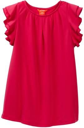 Joe Fresh Ruffle Knit Dress (Toddler & Little Girls)