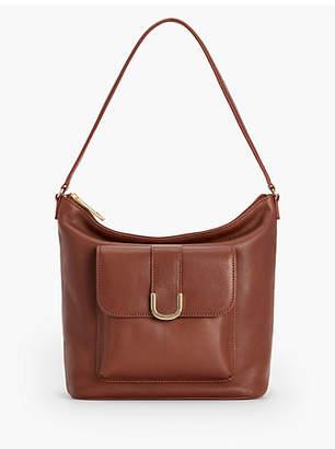 Talbots Soft Pebble Leather Hobo Bag