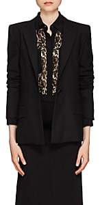 Givenchy Women's Wool One-Button Blazer - Black
