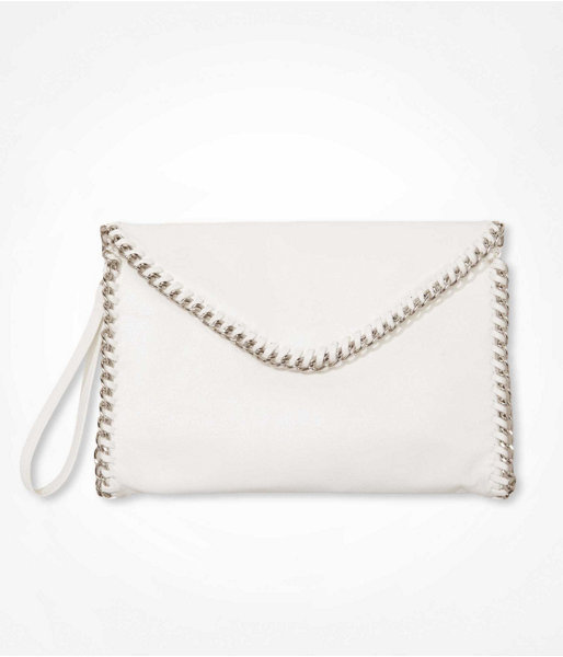 Express Chain Wrapped Envelope Clutch
