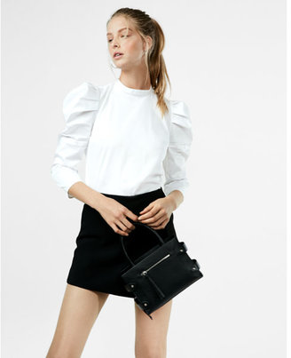 Express Puff Sleeve Blouse $49.90 thestylecure.com
