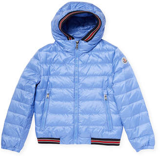 Moncler Quilted Ribbed Down Jacket