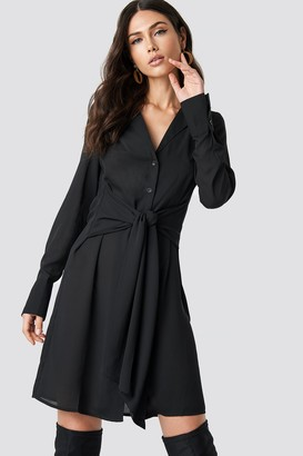 NA-KD Na Kd Tied Waist Dress