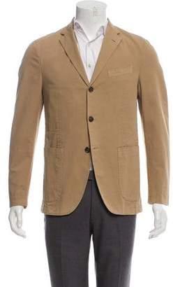Barneys New York Barney's New York Woven Three-Button Blazer