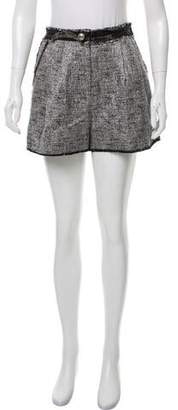 Marc Jacobs Tweed High-Rise Shorts