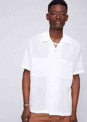 Cmmn Swdn Dexter Open Collar Shirt