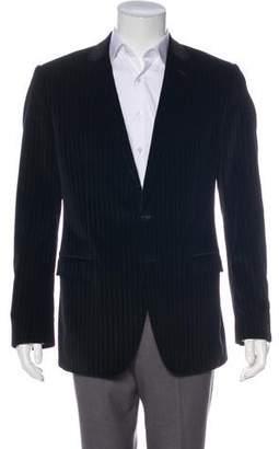 Dolce & Gabbana Velvet Striped Blazer