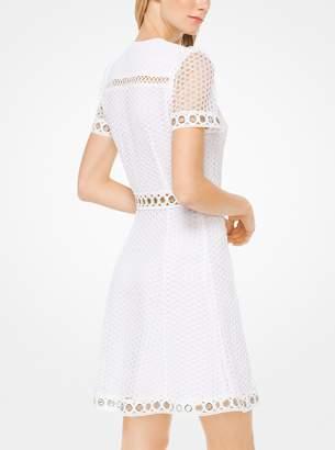 2fa0f002a82 MICHAEL Michael Kors Grommeted Dot Lace Dress