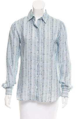 Lorenzini Printed Shirt Dress