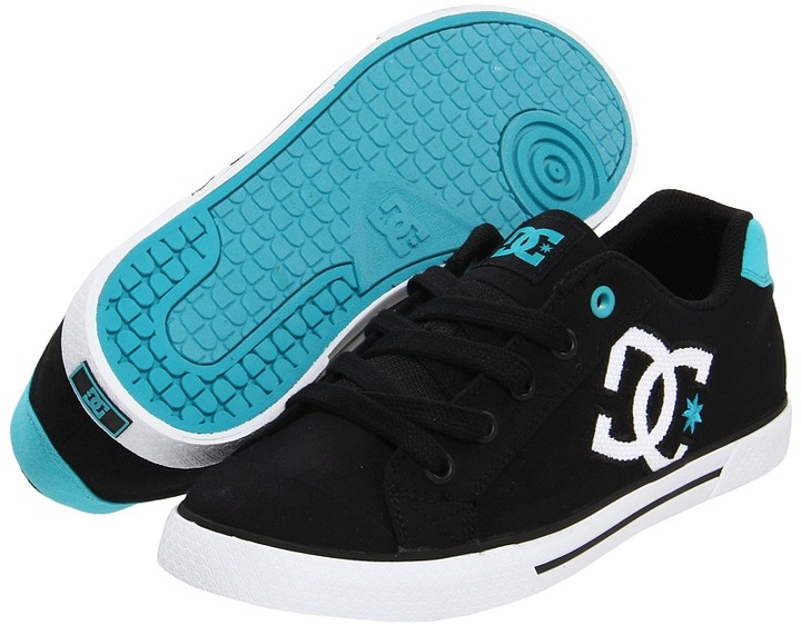 DC Chelsea TX W (Black/Blue) - Footwear