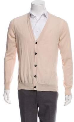 Ann Demeulemeester Woven Button-Up Cardigan