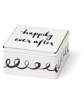 Kate Spade Bridal Party Ring Box