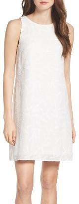 Women's Betsey Johnson Clipped Jacquard Shift Dress $98 thestylecure.com