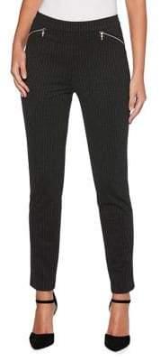 Rafaella Petite Pinstriped Skinny Pants