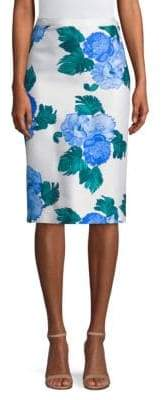 Draper James Peony Pencil Skirt