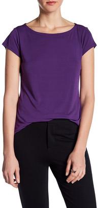Eileen Fisher Boatneck Silk Shirt $118 thestylecure.com