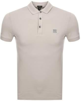 BEIGE BOSS Casual Passenger Polo T Shirt