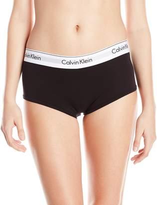 Calvin Klein Women's Modern Cotton Boyshort Panty
