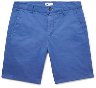 NN07 Crown Garment-Dyed Stretch-Cotton Twill Shorts