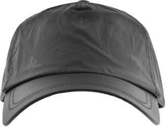 a363df2f19e at Mainline Menswear Giorgio Armani Emporio All Over Logo Cap Black