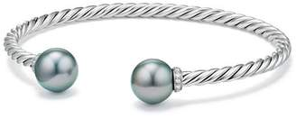 David Yurman Solari Bracelet with Diamonds & Cultured Tahitian Gray Pearl