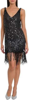 ATTICO Sequins Dress With Fringes