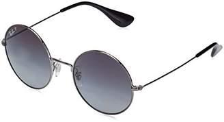 Ray-Ban Women's Ja-jo Polarized Round Sunglasses