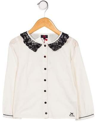 Paul Smith Girls' Emrica Button-Up Top w/ Tags