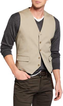Joe Men's Cotton Vest Khaki