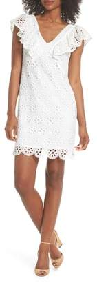 Trina Turk trina Neriah Eyelet Embroidered Dress
