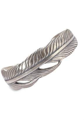 Mercer Sterling Silver Feather Cuff Bracelet