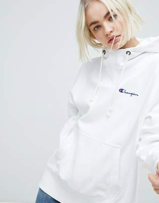 Champion Oversized Hoodie With High Neck