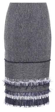 Roland Mouret Honeywell cotton-blend skirt