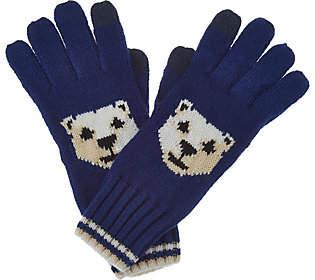 C. Wonder Polar Bear Intarsia Gloves