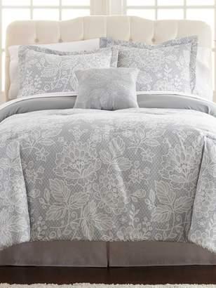 Allure Olivia Printed Reversible Bed In Bag Set (8 PC)